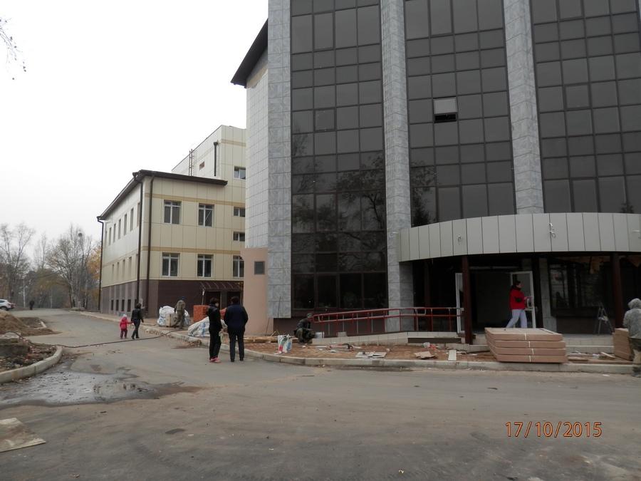 2_2. Фасад строящегося здания -